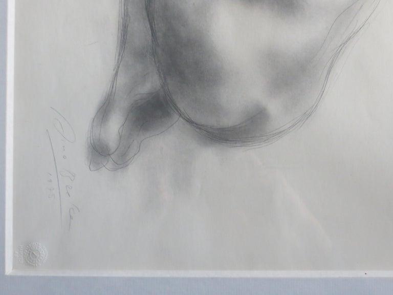 Nude signed Arno Breker  - Gray Figurative Art by Arno Breker