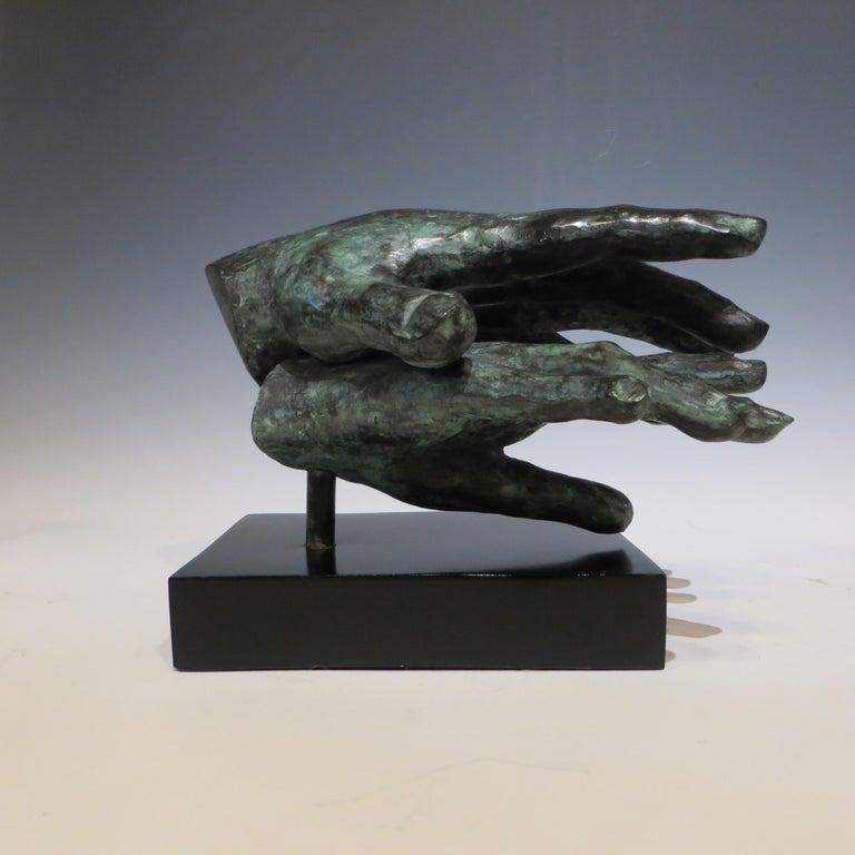 Gerard Ramon Nude Sculpture - Hand game