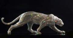 Cheetah covered with Swarovski crystals