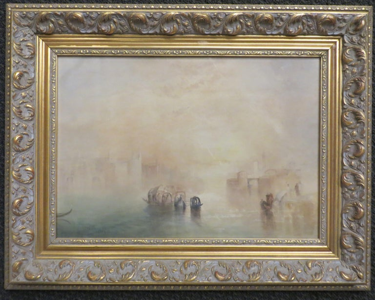 After Turner Pair of Venetian Canal Scenes  - Art by Unknown