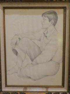 Boy Portrait by Carlos Orozco Romero