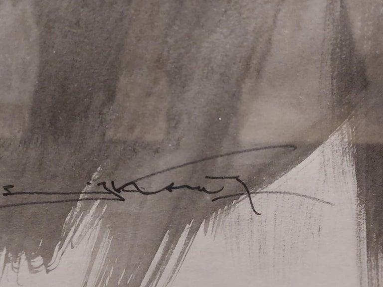 Emil Kosa, Jr., N.A. (1903-1968) Born: Paris, France; Studied: Academy of Fine Arts (Prague), Ecole des Beaux Arts (Paris), Chouinard Art Institute (Los Angeles); Member: National Academy of Design, American Watercolor Society, California Water