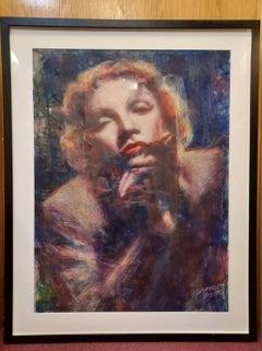 Marlene Dietrich Portrait by  Dyck Graydon