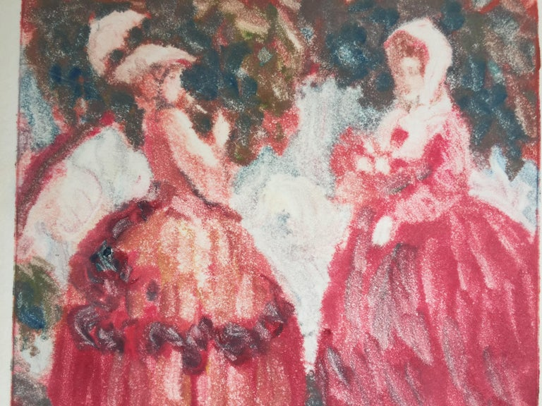 Colonial Dames - American Impressionist Art by Clark Hobart
