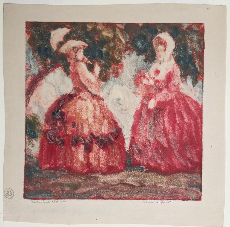 Colonial Dames - Art by Clark Hobart