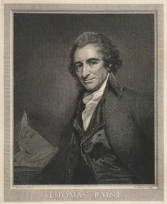 Thomas Paine - Lifetime 18th Century Portrait