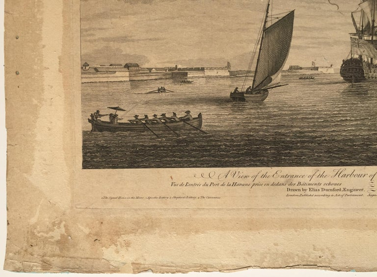 Early View of HAVANA HARBOR, Cuba For Sale 2