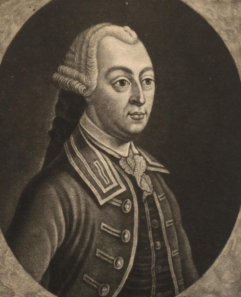 JOHN HANCOCK - Lifetime Portrait  - Signer of the Declaration of Independence  - Print by John Wilkinson