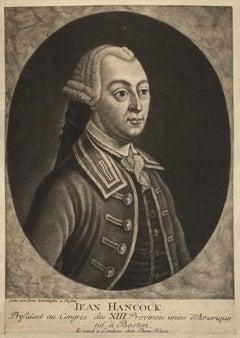 JOHN HANCOCK - Lifetime Portrait  - Signer of the Declaration of Independence