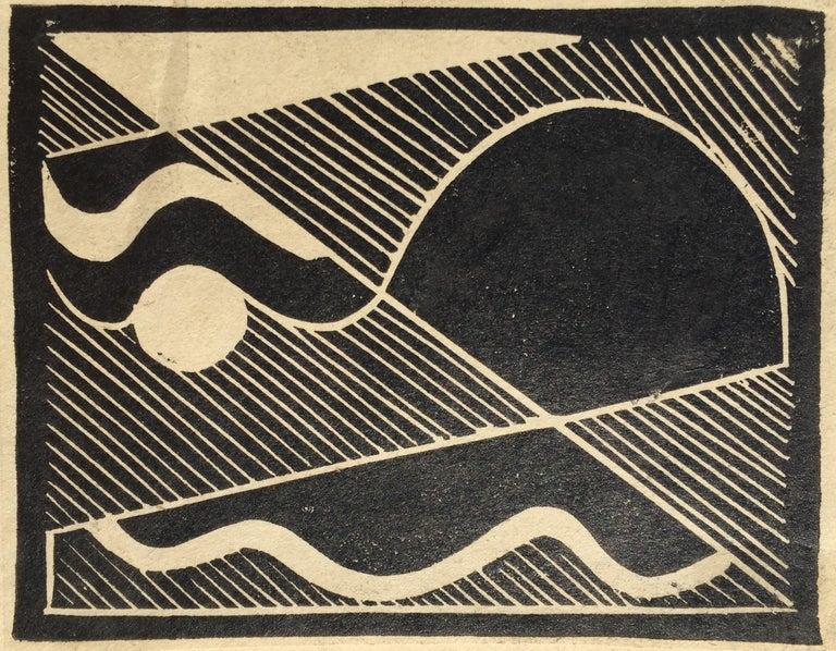 THUNDER (Gewitten) - Print by Erich Mueller-Kraus