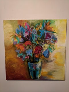 Painting on Canvas  -- The Vase