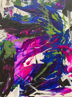Abstract Acrylic Painting  --  Repose
