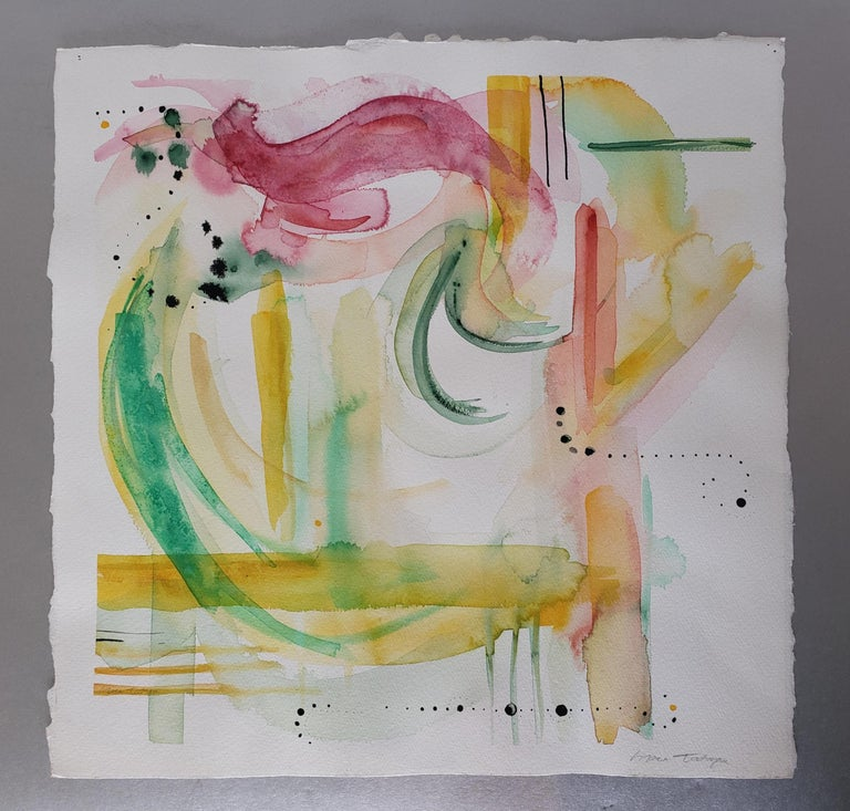 Mixed Media -- Untitled 1, Watercolor Series - Mixed Media Art by Grace Tatara
