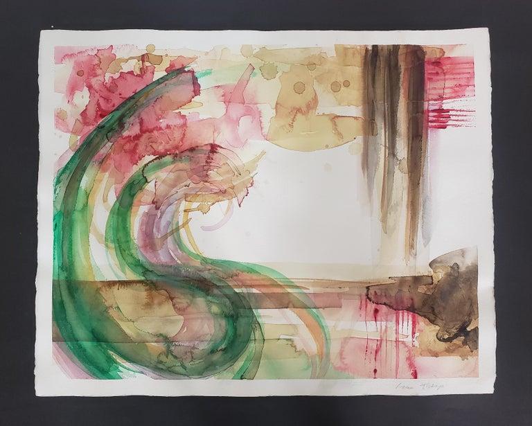 Mixed Media -- Untitled 2, Watercolor Series - Mixed Media Art by Grace Tatara