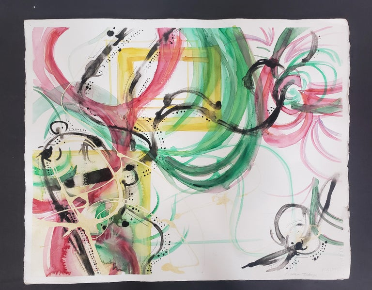 Mixed Media -- Untitled 3, Watercolor Series - Mixed Media Art by Grace Tatara