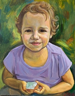 Oil on Canvas Painting -- Isabella