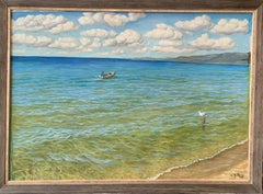 Oil on Canvas -- Clear Waters