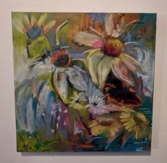 Painting on Canvas -- A Day in July