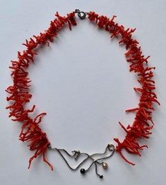 Jewelry- Handmade Coral Necklace