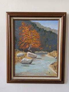 Oil on Canvas Landscape --- Cibolo Creek