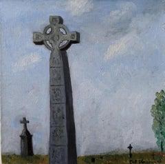 Oil on Canvas-- Clonmacnoise