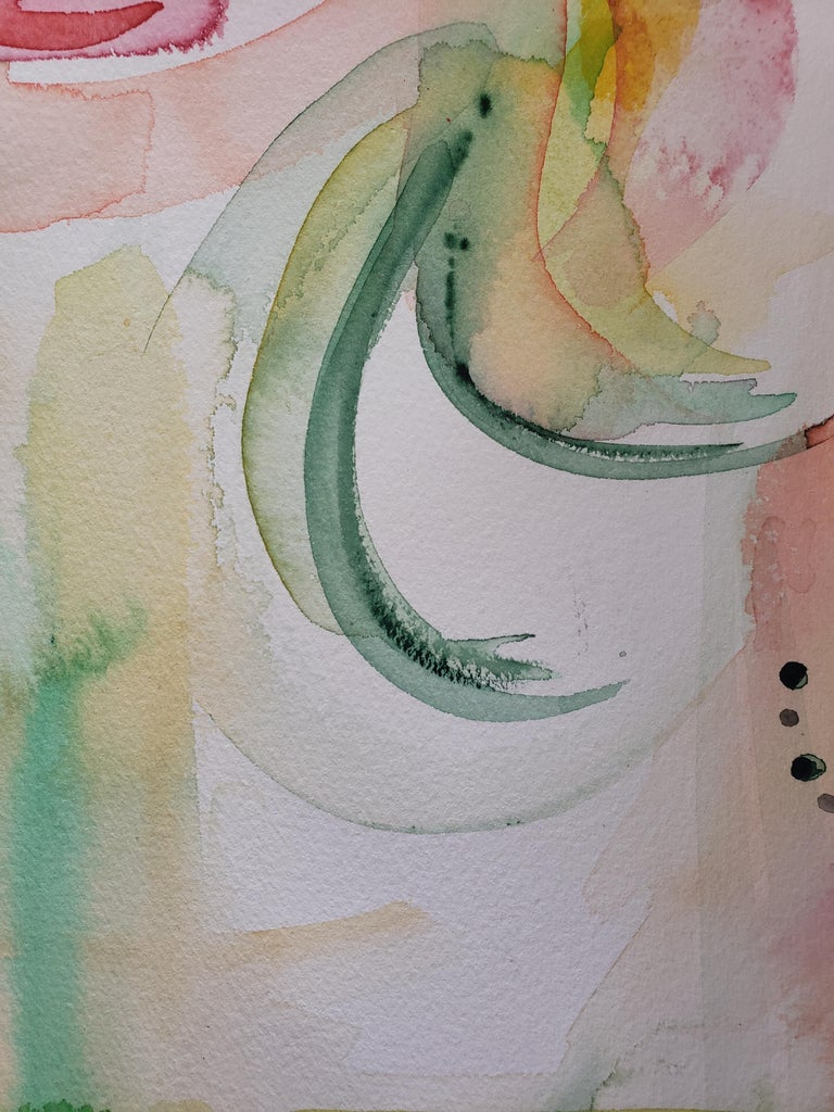 Mixed Media -- Untitled 1, Watercolor Series For Sale 1