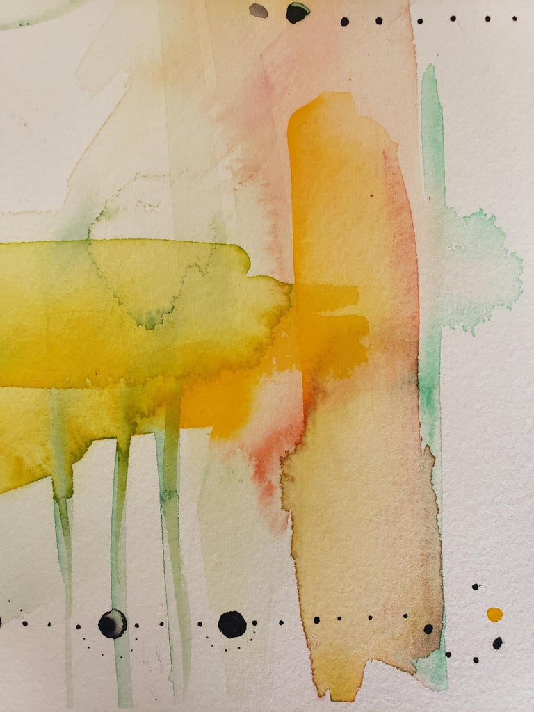Mixed Media -- Untitled 1, Watercolor Series For Sale 2