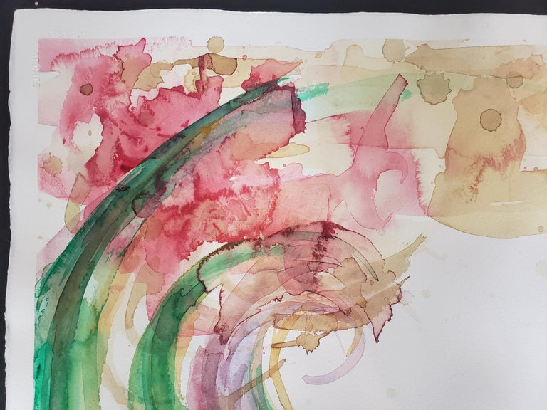 Mixed Media -- Untitled 2, Watercolor Series For Sale 1