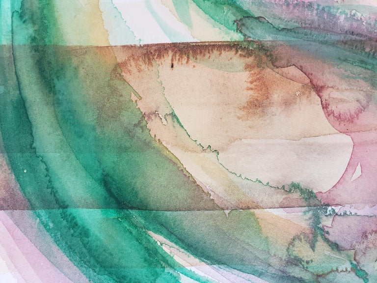 Mixed Media -- Untitled 2, Watercolor Series For Sale 2