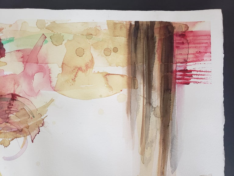 Mixed Media -- Untitled 2, Watercolor Series For Sale 3