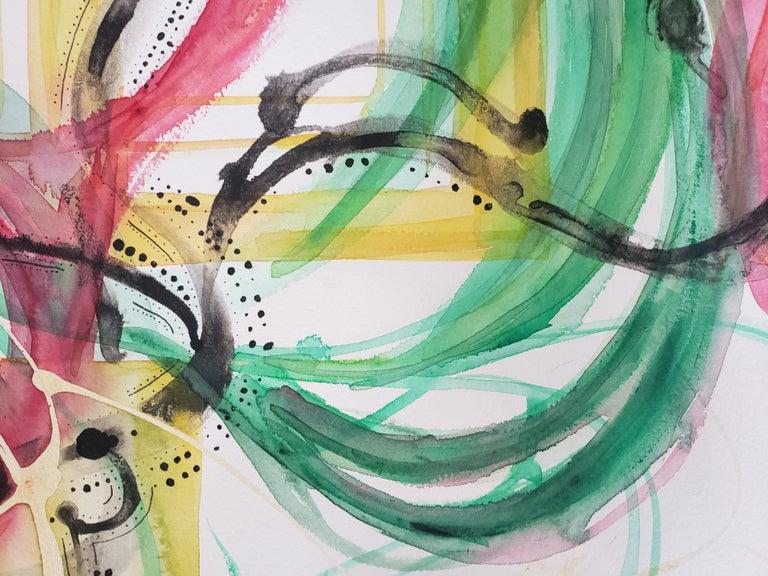 Mixed Media -- Untitled 3, Watercolor Series - Abstract Mixed Media Art by Grace Tatara