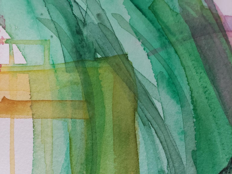 Mixed Media -- Untitled 3, Watercolor Series For Sale 1
