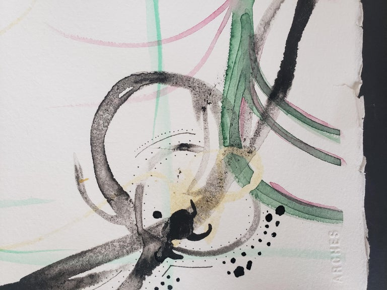 Mixed Media -- Untitled 3, Watercolor Series For Sale 2