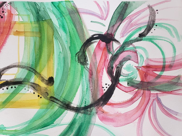 Mixed Media -- Untitled 3, Watercolor Series For Sale 3