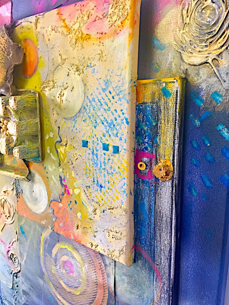 Mixed Media Artwork -- SUNRISE - Painting by Jacqueline Watsky