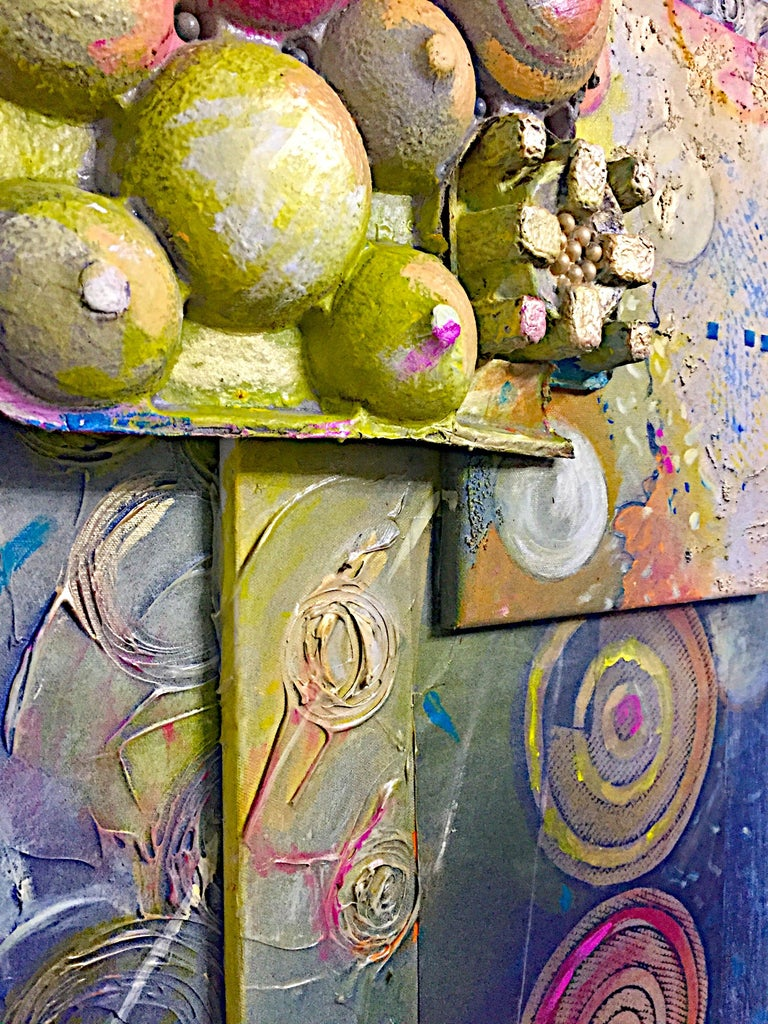 Mixed Media Artwork -- SUNRISE For Sale 4
