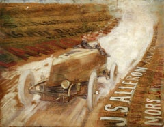 """The Mors Dauphin raced by Joseph Salleron 1904 - Gordon Bennett Cup"""