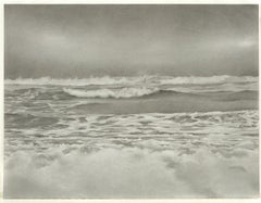 Mary Reilly, Breezy Point 2, photorealist graphite landscape drawing, 2010