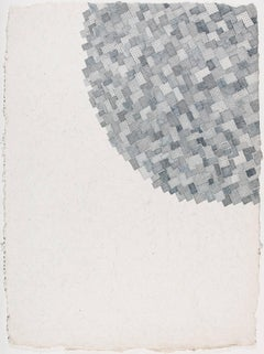 Jeanne Heifetz, Mottaini 2, abstract geometric ink on paper drawing, 2016