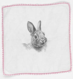 Constance Scopelitis, God is in Clean Laundry: Rabbit, realist animal drawing