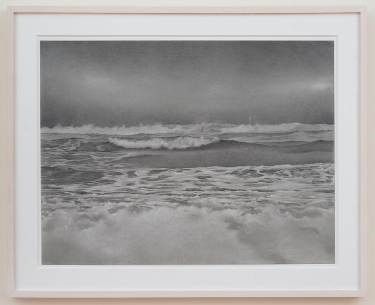 In her detailed graphite drawings, Mary Reilly emphasizes the beauty of quiet, secluded locations throughout the 5 boroughs of New York City.  Her imagery is taken from time spent alone in nature where she discovers treasures and vistas that are
