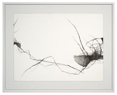Minimal, Charcoal Drawing: 'Voices II'