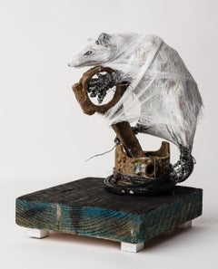 Small Sculpture of a possum: 'Possum Kingdom'
