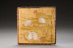 Wood Fired Ceramic Painting: 'Fire Painting 2.2.10'