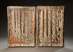 'Wood Fire Painting Diptych #12 & 11.4.13'