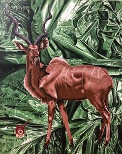 "Acrylic on Canvas: ""Bad Habitat"""
