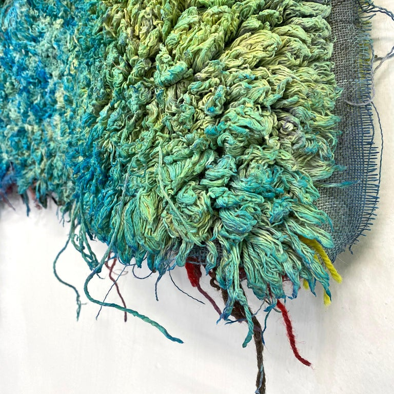 Large Textile Wall Hanging: 'Hoodie' For Sale 3