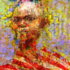 'It's Not You It's Me' Digital Painting, Lambda Print Mounted on Alu Dibond