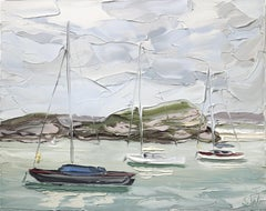 Pittwater 1 (13. 3. 17) - Original Oil Painting
