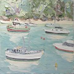 Berry's Bay (22. 6. 17) - Original Oil Painting
